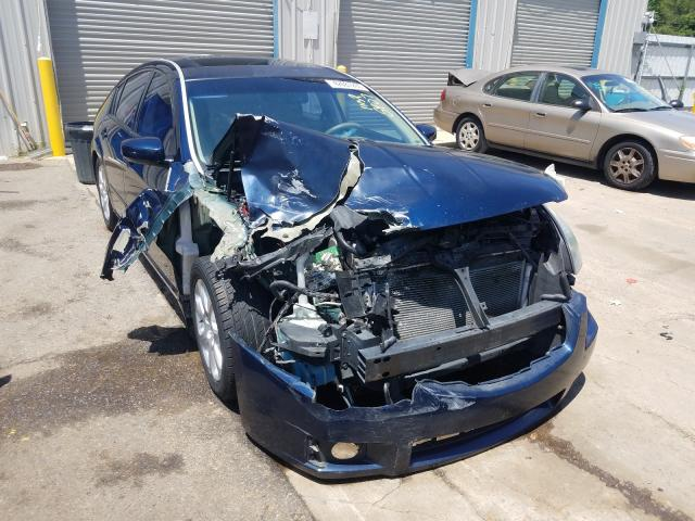 Salvage cars for sale from Copart Memphis, TN: 2007 Nissan Maxima SE