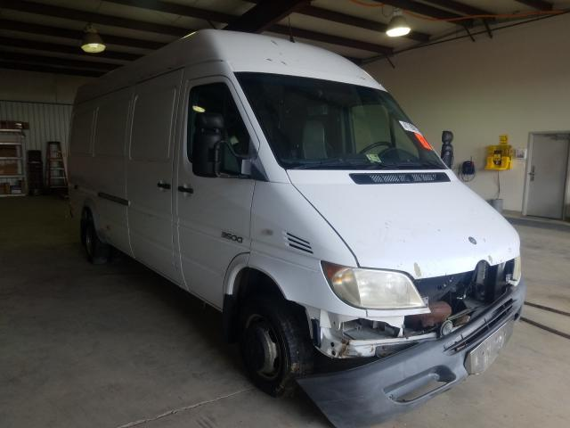 Salvage cars for sale from Copart Chambersburg, PA: 2004 Sprinter 3500 Sprin