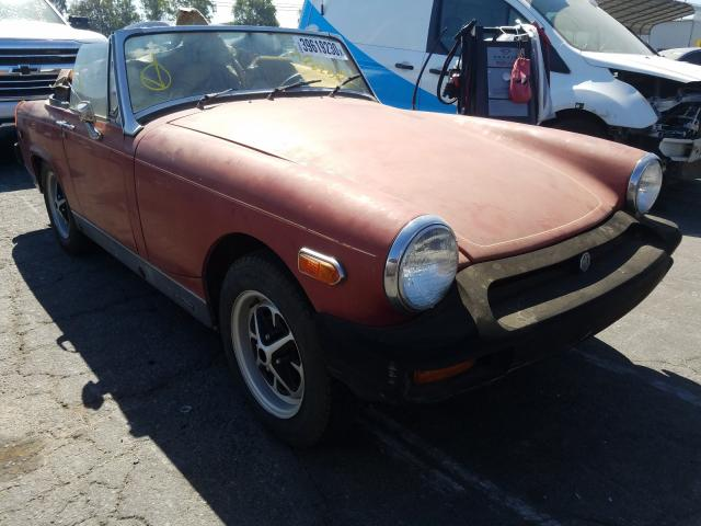 MG Vehiculos salvage en venta: 1979 MG MGB