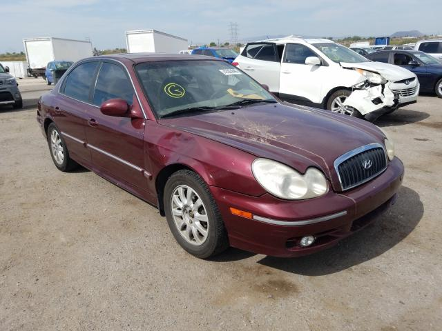 auto auction ended on vin kmhwf35hx2a660337 2002 hyundai sonata gls in az tucson autobidmaster