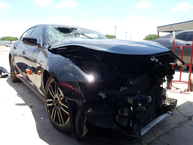 Salvage cars for sale from Copart Wilmer, TX: 2018 Maserati Ghibli S