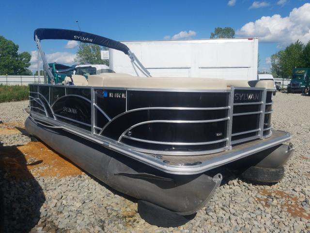 Sylvan Boat salvage cars for sale: 2019 Sylvan Boat