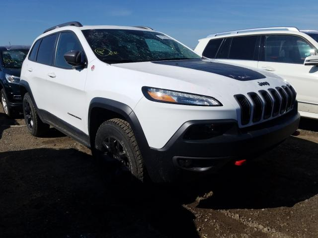 Jeep salvage cars for sale: 2018 Jeep Cherokee T