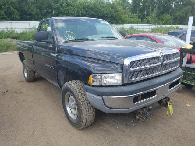 Salvage cars for sale from Copart Davison, MI: 2001 Dodge RAM 1500