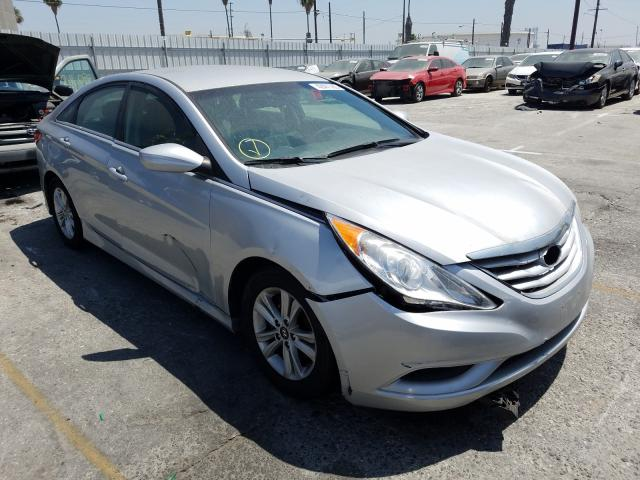 Salvage cars for sale from Copart Wilmington, CA: 2014 Hyundai Sonata GLS