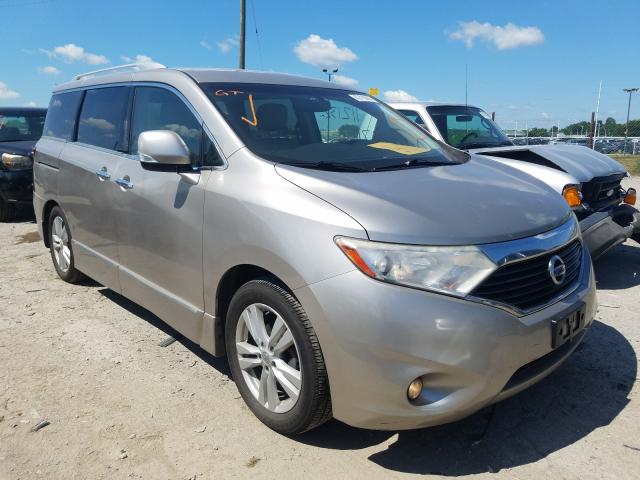 Salvage cars for sale from Copart Indianapolis, IN: 2011 Nissan Quest S