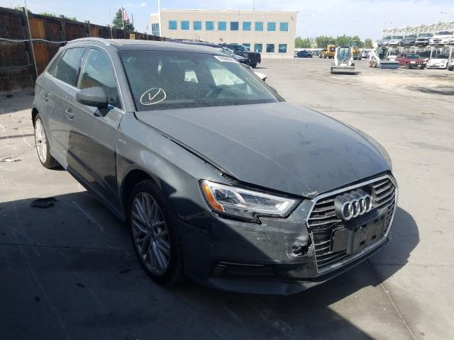 Audi salvage cars for sale: 2018 Audi A3 E-Tron