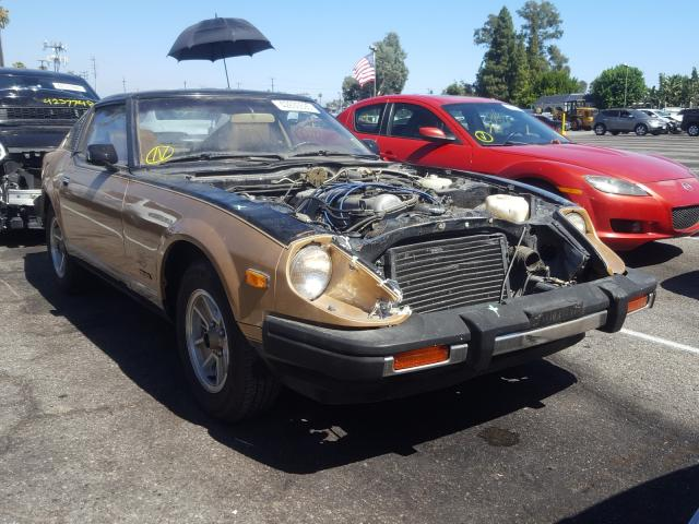 Datsun salvage cars for sale: 1980 Datsun 280 ZX