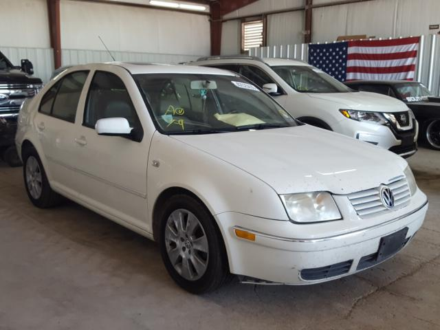 Salvage cars for sale from Copart Mercedes, TX: 2005 Volkswagen Jetta GLS