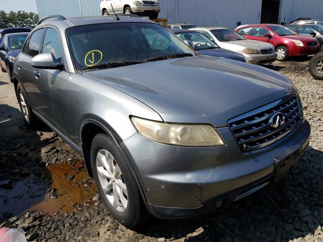 Infiniti FX35 salvage cars for sale: 2006 Infiniti FX35