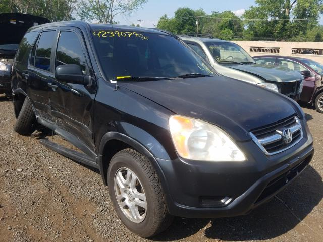 Honda salvage cars for sale: 2002 Honda CR-V EX