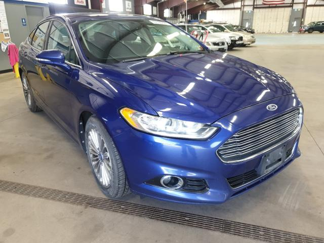 Ford Fusion Titanium salvage cars for sale: 2013 Ford Fusion Titanium