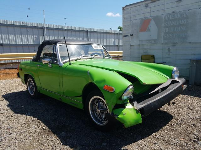 MG Midget salvage cars for sale: 1975 MG Midget