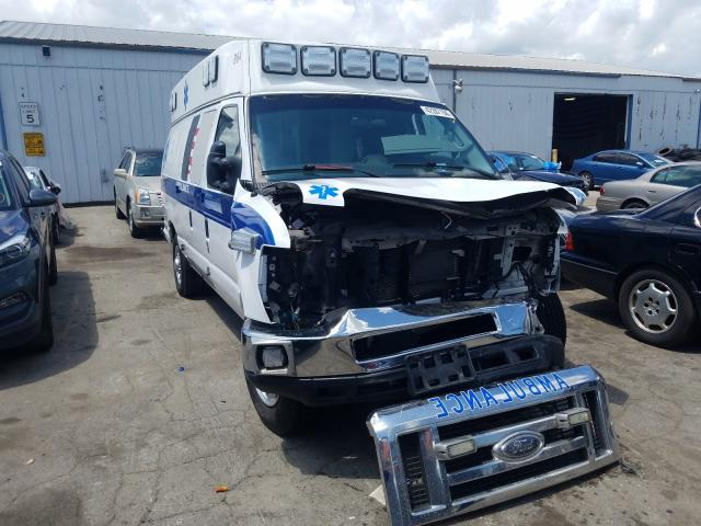 Salvage cars for sale from Copart Chicago Heights, IL: 2011 Ford Econoline
