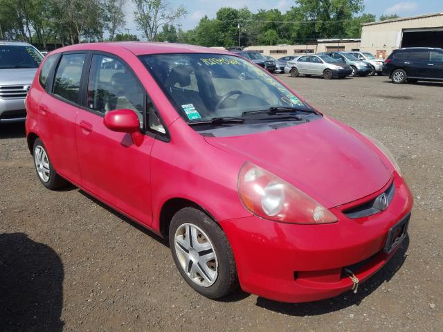 Honda salvage cars for sale: 2007 Honda FIT