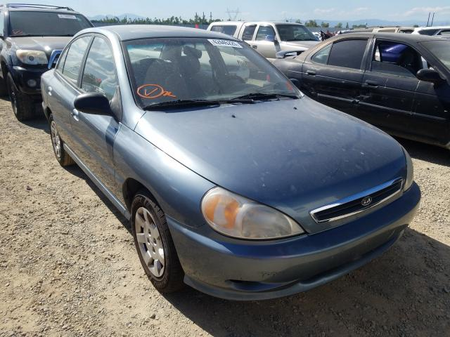 KIA Rio salvage cars for sale: 2002 KIA Rio