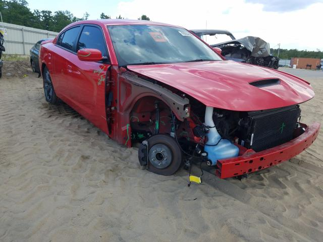 Salvage cars for sale from Copart Gaston, SC: 2019 Dodge Charger R