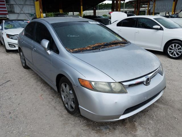 Honda salvage cars for sale: 2008 Honda Civic LX