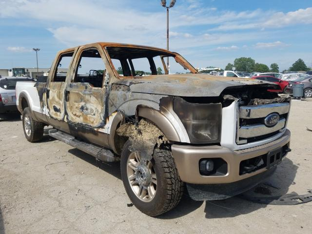 Salvage cars for sale from Copart Indianapolis, IN: 2014 Ford F350 Super