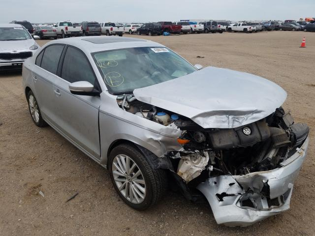Salvage cars for sale from Copart Amarillo, TX: 2013 Volkswagen Jetta SEL