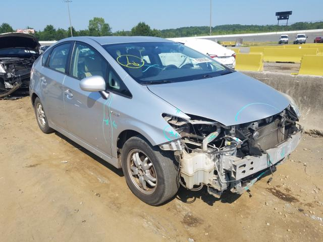Salvage cars for sale from Copart Concord, NC: 2010 Toyota Prius