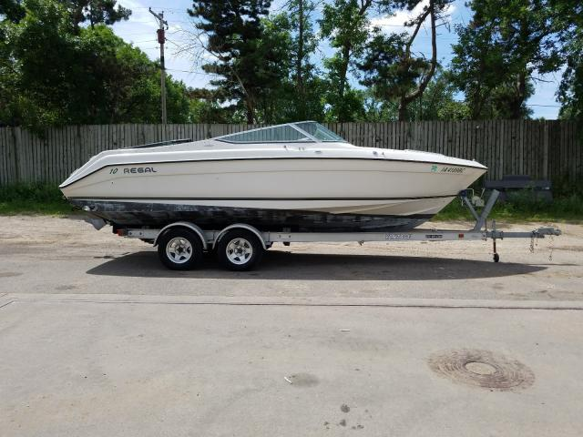 Salvage 1996 Regal BOAT for sale