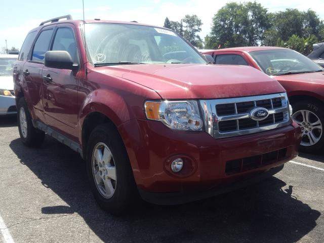 Ford Escape XLT salvage cars for sale: 2009 Ford Escape XLT