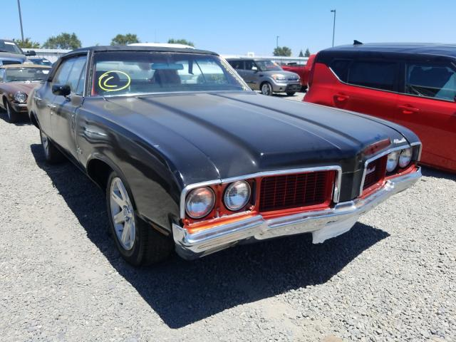 Oldsmobile Cutlass salvage cars for sale: 1970 Oldsmobile Cutlass