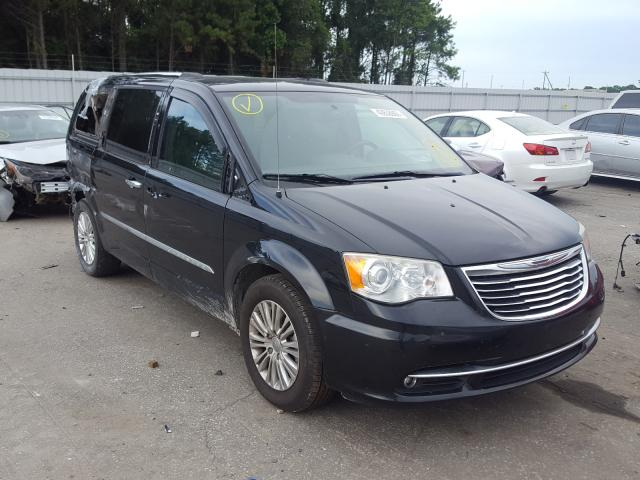 Chrysler salvage cars for sale: 2014 Chrysler Town & Country