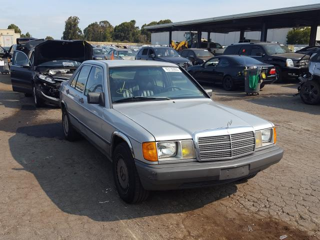 Mercedes-Benz 190 E 2.3 salvage cars for sale: 1984 Mercedes-Benz 190 E 2.3