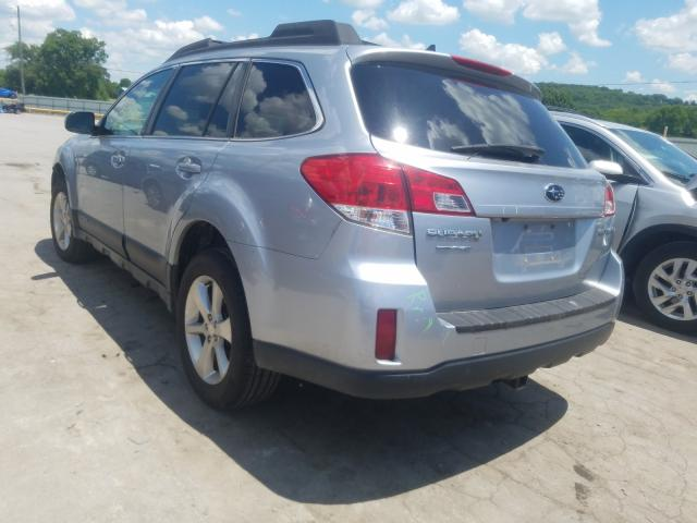 salvage certificate 2014 subaru outback 4dr spor 2 5l for sale in lebanon tn 42550280 a better bid car auctions