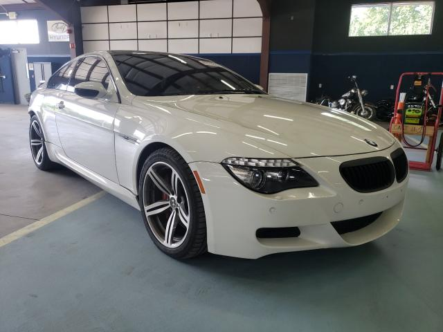 BMW M6 salvage cars for sale: 2008 BMW M6