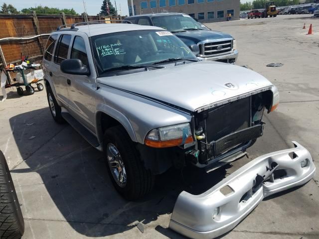 Dodge salvage cars for sale: 2002 Dodge Durango R