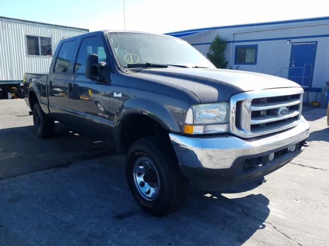Salvage cars for sale from Copart Wilmington, CA: 2004 Ford F250 Super