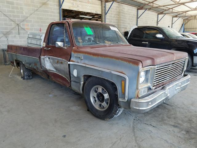Chevrolet C-10 salvage cars for sale: 1978 Chevrolet C-10