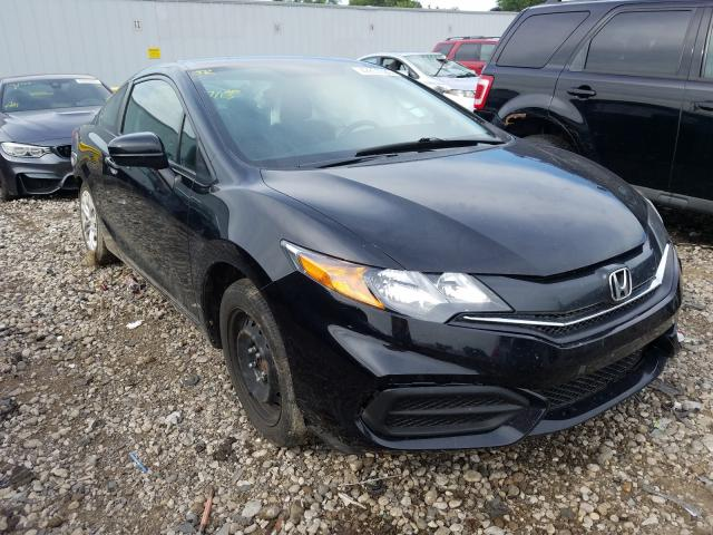 Salvage cars for sale from Copart Cudahy, WI: 2014 Honda Civic LX