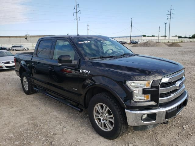 Salvage cars for sale from Copart Columbus, OH: 2015 Ford F150 Super