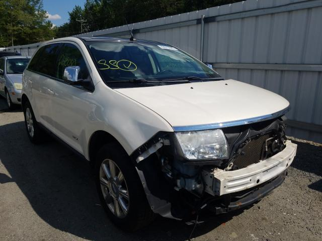 Salvage cars for sale from Copart Fredericksburg, VA: 2007 Lincoln MKX