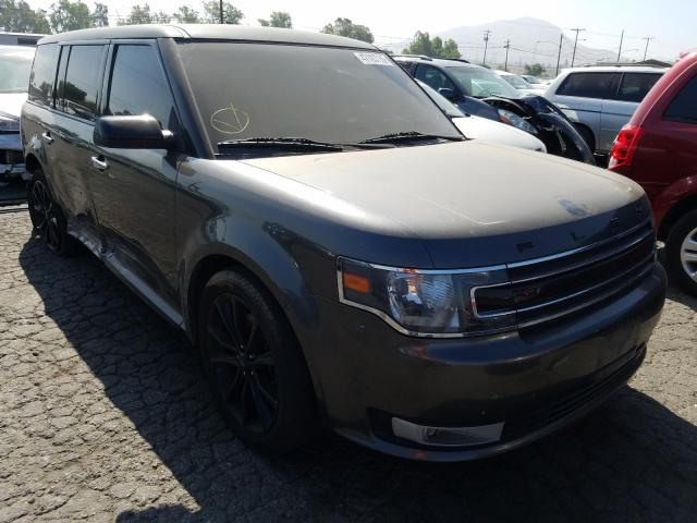 Ford Flex SEL salvage cars for sale: 2016 Ford Flex SEL