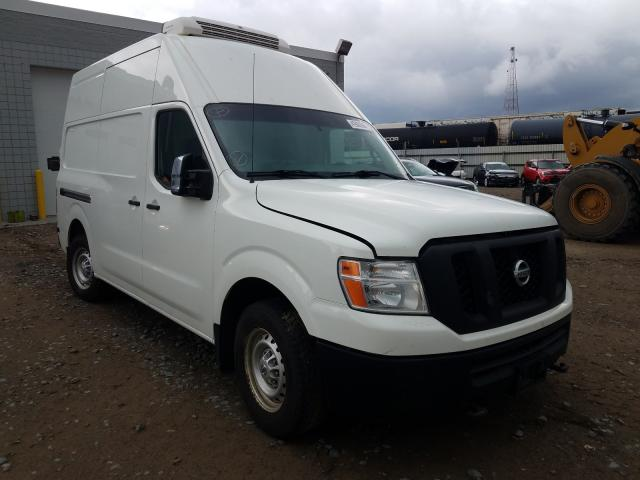 Nissan salvage cars for sale: 2014 Nissan NV 2500