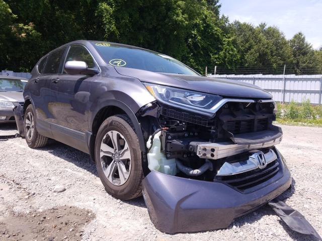 Honda CR-V LX salvage cars for sale: 2019 Honda CR-V LX