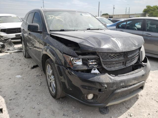 Salvage cars for sale from Copart Haslet, TX: 2014 Dodge Journey R