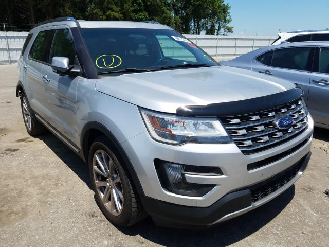 Salvage cars for sale from Copart Dunn, NC: 2016 Ford Explorer L