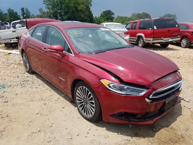 2017 Ford Fusion SE en venta en China Grove, NC