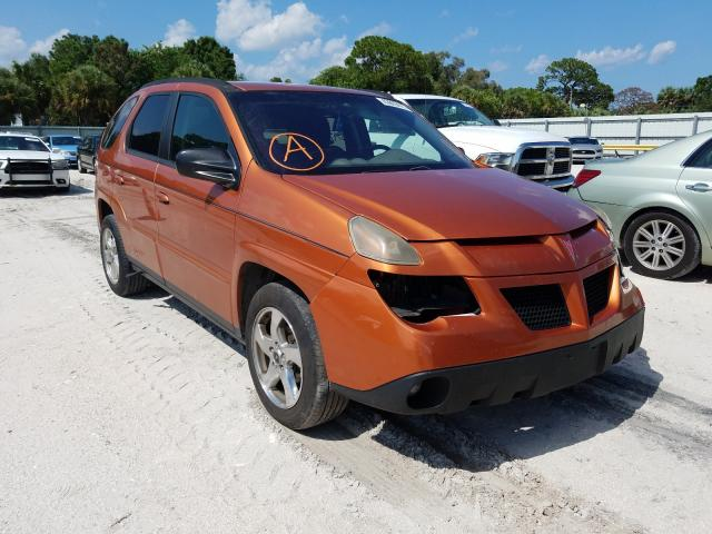 Pontiac Aztek salvage cars for sale: 2005 Pontiac Aztek