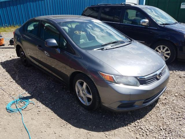 Honda Civic EXL salvage cars for sale: 2012 Honda Civic EXL