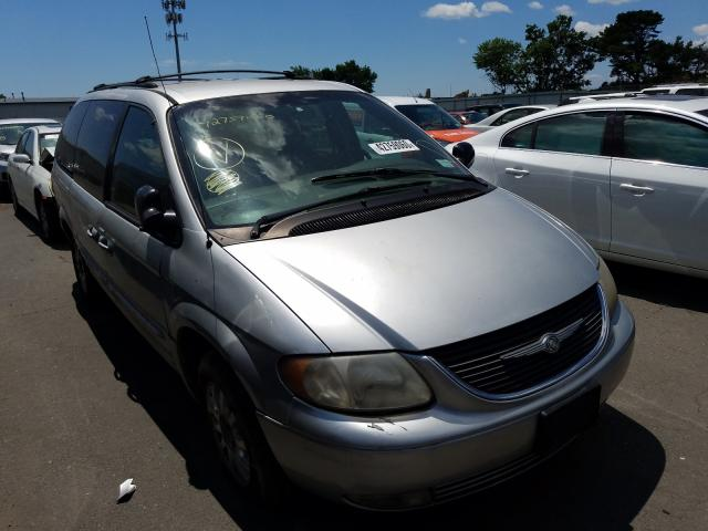 Chrysler salvage cars for sale: 2002 Chrysler Town & Country