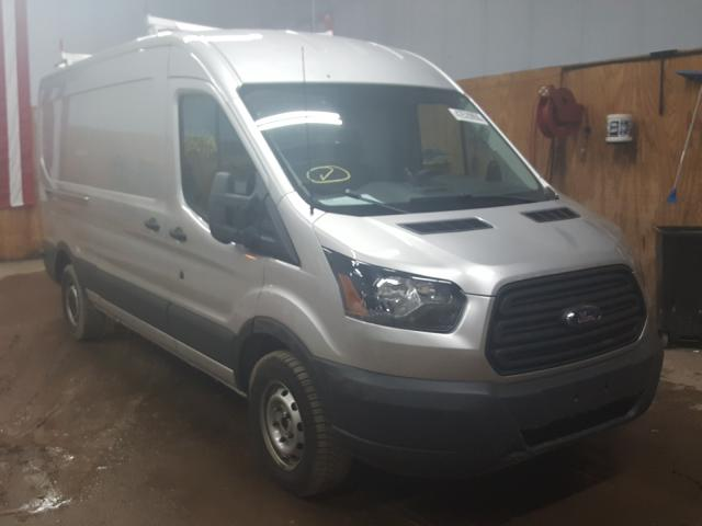Salvage cars for sale from Copart Kincheloe, MI: 2015 Ford Transit T