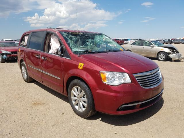 Salvage cars for sale from Copart Amarillo, TX: 2015 Chrysler Town & Country