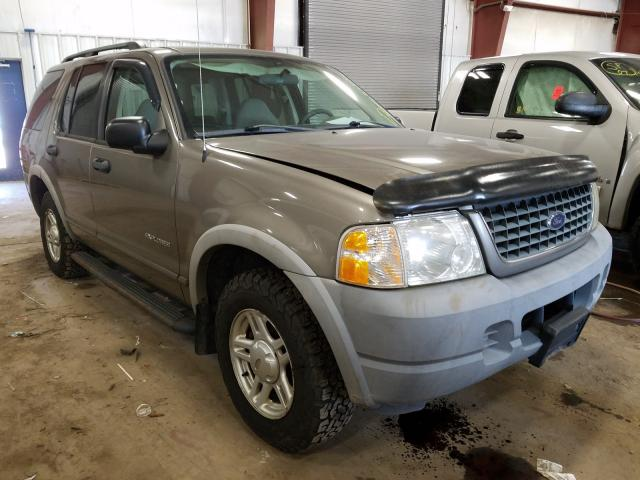 Salvage cars for sale from Copart Lansing, MI: 2002 Ford Explorer